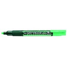 Маркер меловой  Pentel WET ERASE Marker, зеленый