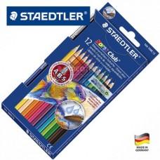 """Акварельные карандаши Staedtler """"Noris Club"""" 12 цв. + кисть"""