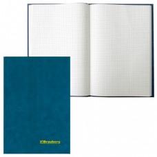 Книга учета BRAUBERG 96л, А4 200*290мм, клетка, бумвинил, блок офсет