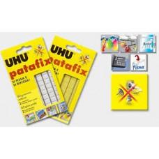 """Клеящие подушечки UHU """"Patafix"""", 80шт.,  жёлтые"""