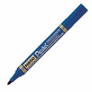 """Маркер перманентный Pentel """"N850"""", цвет синий."""