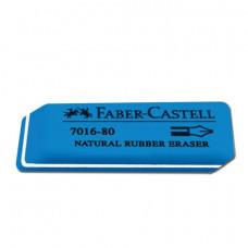 """Резинка стирательная FABER-CASTELL """"7016"""", для туши/чернил, каучук."""