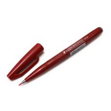 Фломастер-кисть Pentel Brush Sign Pen (Красная)