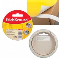 Клейкая лента двухсторонняя 12мм х 10м ERICH KRAUSE на бумажной основе.