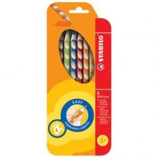 "Набор цветных карандашей Stabilo ''Easy Start"" 6 цв., для левшей."