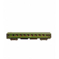 """Сборная модель из картона """"Спальный вагон"""", масштаб HO 1/87."""