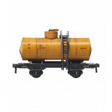 """Сборная модель из картона """"Цистерна двухосная"""" (бензин), масштаб HO 1/87."""