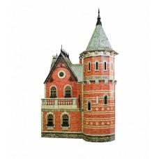 """Сборная модель из картона """"Кукольный дом 3""""."""