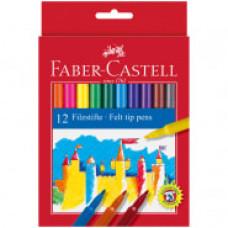 Фломастеры Faber-Castell, 12цв., смываемые
