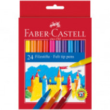 Фломастеры Faber-Castell, 24цв., смываемые