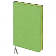 "Бизнес-блокнот BRAUBERG ""Tweed"", А5 148x213 мм, под ткань, линия, 128 л., зеленый"