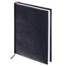 """Ежедневник BRAUBERG недатированный, А5, 138х213 мм, """"Select"""", под зернистую кожу, 160 л., черный"""