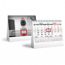 """Календарь-домик 2020 год, на гребне, 160х105 мм, горизонтальный, """"Красно-черный"""", HATBER"""