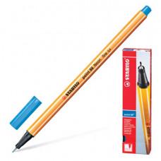 """Ручка капиллярная STABILO """"Point"""", корпус оранжевый, толщина письма 0,4 мм, ультрамарин"""