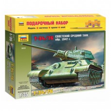 """Модель для склеивания набор """"Средний советский танк Т-34/76 образца 1942"""", масштаб 1:35"""