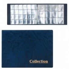 Альбом для монет на 2-х кольцах, для 180 монет, 5+5 листов, цвет ассорти