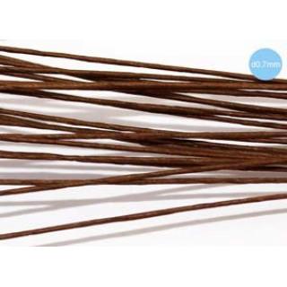 Проволочки обернуты коричневой бумагой в упаковке 20 шт. Предназначены для изготовления стеблей цветов.